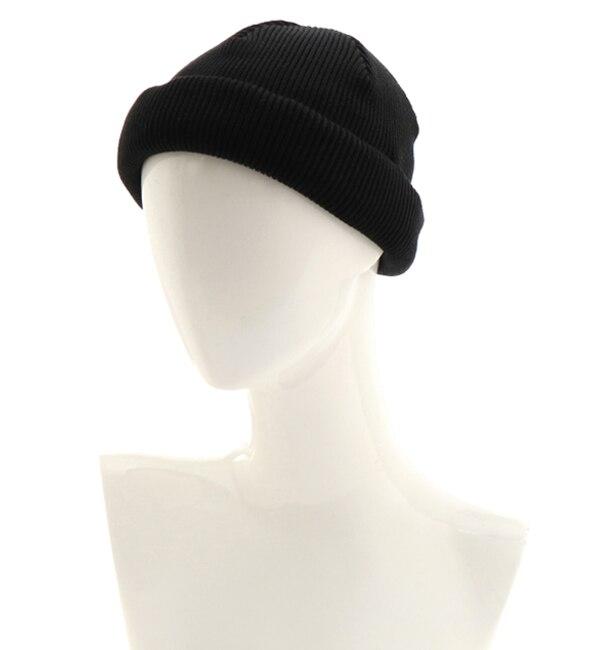 【ナノ・ユニバース/nano・universe】 ACAL:Roll Knit CAP(18spring)