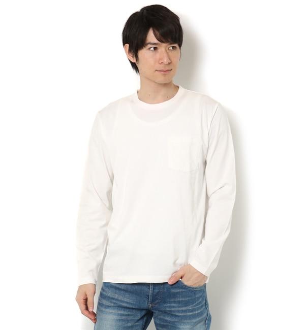 【ナノ・ユニバース/nano・universe】 R/CプレーティングクルーネックTシャツ