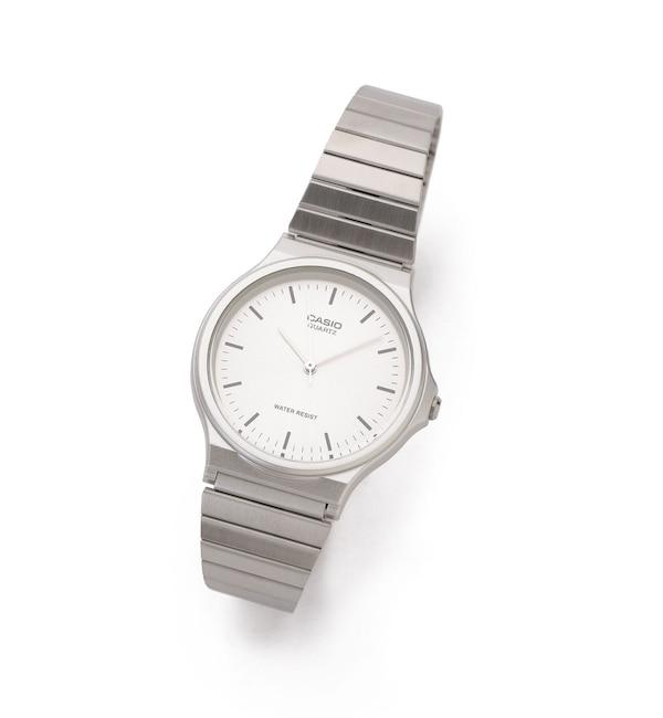 人気メンズファッション|【ナノ・ユニバース/nano・universe】 《WEB限定》CASIO アナログ腕時計