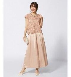 【クミキョク/組曲】 【結婚式やパーティに】(2SET)ビアンカ セットアップ パンツドレス [送料無料]
