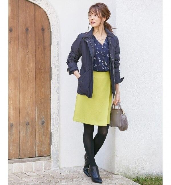 【クミキョク/組曲】 SHETLANDWOOL MOON スカート