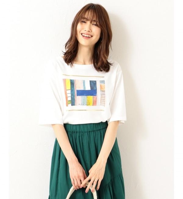 【クミキョク/組曲】 【洗える】アーティストコラボTシャツ Alma