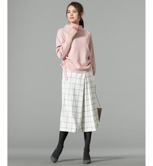 【ジユウク/自由区】 T/R2WAYリフレッシュアクアチェック スカート