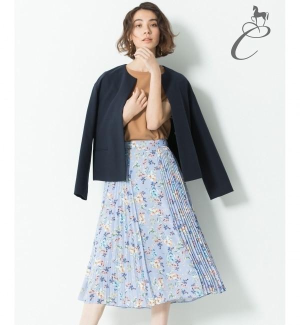 【ジユウク/自由区】 【Class Lounge】BOUQUET PRINT スカート(検索番号Y56)