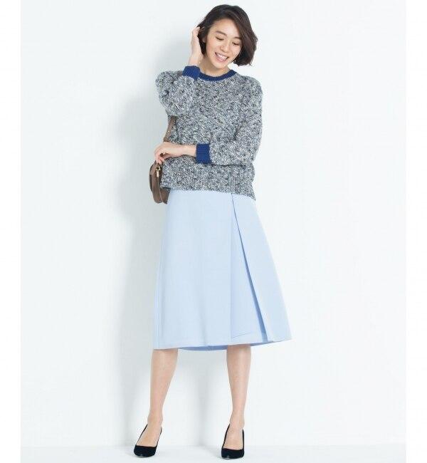 【ジユウク/自由区】 TRIACE DRAPE スカート