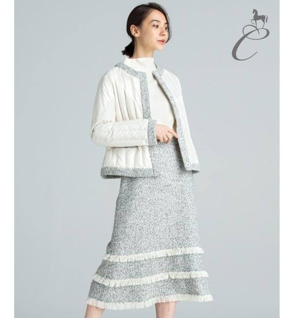 【ジユウク/自由区】 【Class Lounge】BELLANDI TWEED スカート