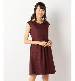 【エニィスィス/any SiS】 ハートシェイプネック ドレス [送料無料]