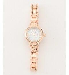 【WEB限定】エレガントメタル ウォッチ(腕時計)【エニィスィス/any SiS レディス 腕時計 ゴールド系 ルミネ LUMINE】