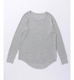 【エニィスィス/any SiS】 (L'aube)Hanes サーマルクルーネック ロングTシャツ [3000円(税込)以上で送料無料]