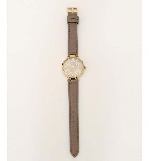 エレガントレトロモチーフ ウォッチ(腕時計)【エニィスィス/any SiS レディス 腕時計 キャメル系 ルミネ LUMINE】