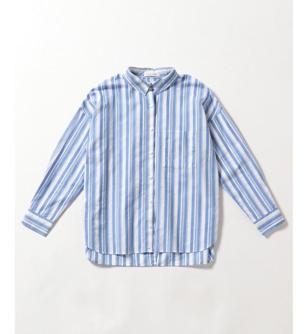 【エニィスィス/any SiS】 【2WAY】L'aube コットンローンギンガムチェック シャツ