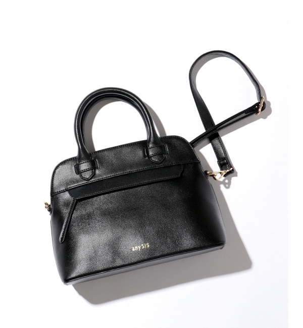 【エニィスィス/any SiS】 【2WAY】ファスナーポイントミディブガッティ バッグ
