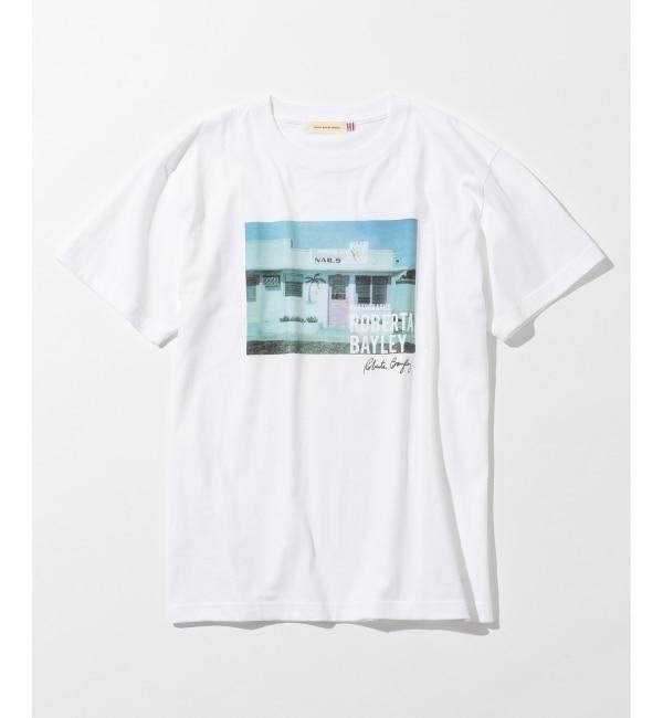 【エニィスィス/any SiS】 【L'aube】Roberta Bayleyフォト Tシャツ