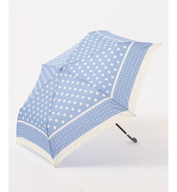 【エニィスィス/any SiS】 【晴雨兼用】ドットライン 折りたたみ傘