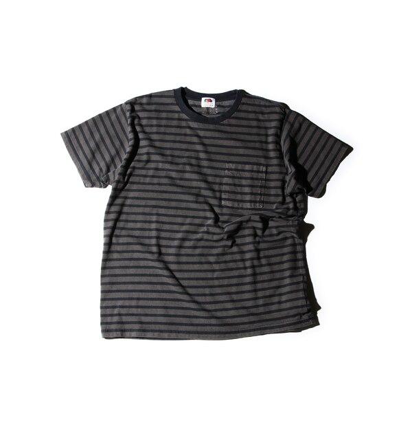 【ローズバッド/ROSEBUD】 胸ポケットボーダーTシャツ MCT-16204 [3000円(税込)以上で送料無料]