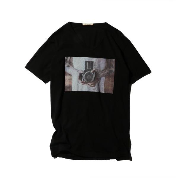 【ローズバッド/ROSEBUD】 (M.POPOVICH)フォトプリントTシャツ [送料無料]