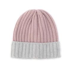 【ローズバッド/ROSEBUD】ウールレーヨン混リブニット帽[3000円(税込)以上で送料無料]