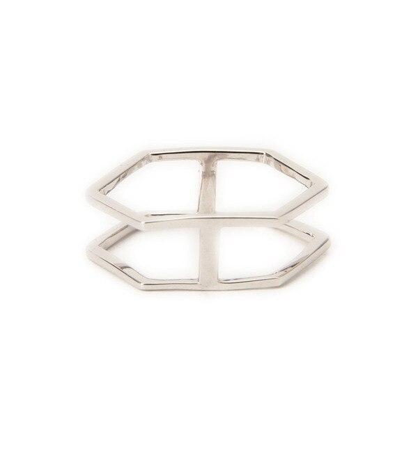 【ローズバッド/ROSEBUD】 (CATTIVO)ヘキサゴンリング [3000円(税込)以上で送料無料]