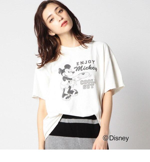 【ローズバッド/ROSEBUD】 (GOOD ROCK SPEED) ミッキーマウス/プリントTシャツ [送料無料]