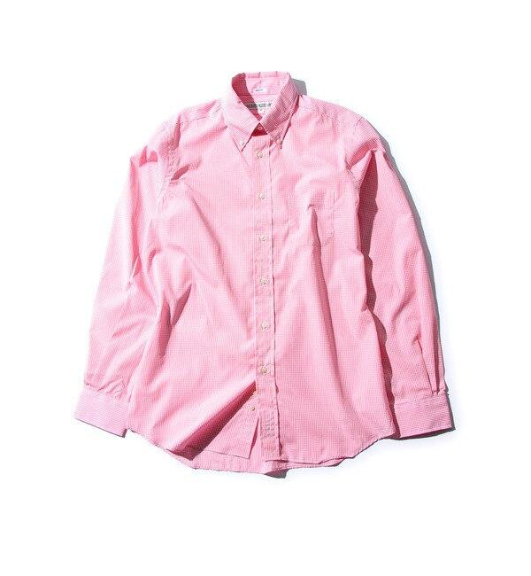 【ローズバッド/ROSEBUD】 (INDIVIDUALIZED SHIRTS)コットンギンガムチェック柄ボタンダウンシャツ [送料無料]