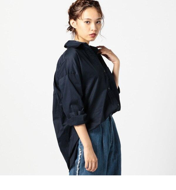 【ローズバッド/ROSEBUD】 ビックシルエットコットンシャツ [送料無料]