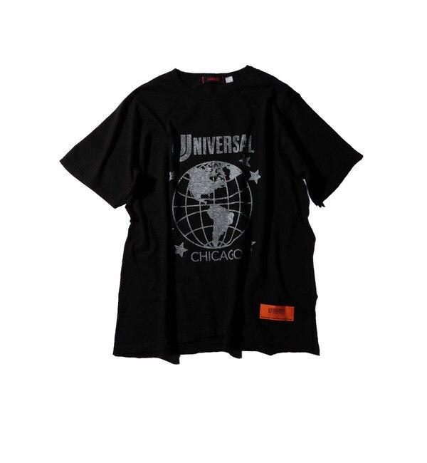 【ローズバッド/ROSEBUD】 プリント半袖Tシャツ S-MCT-16401C [送料無料]