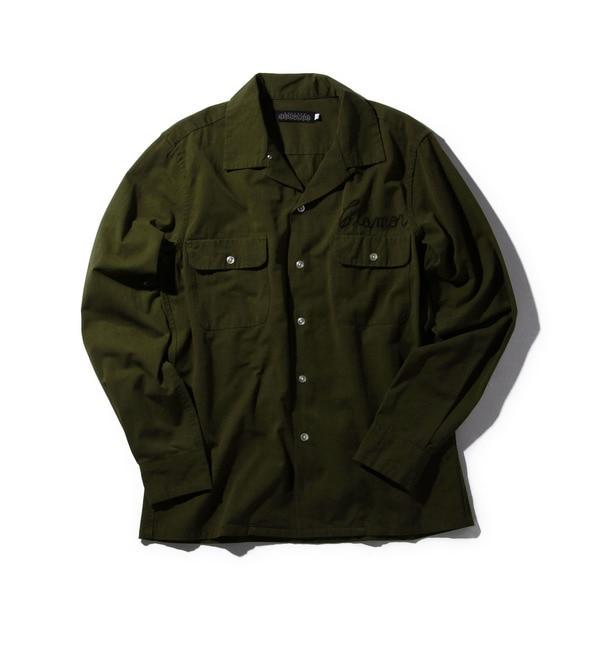 【ローズバッド/ROSEBUD】 バックロゴ入りシャツ S-MSH-16209 [送料無料]