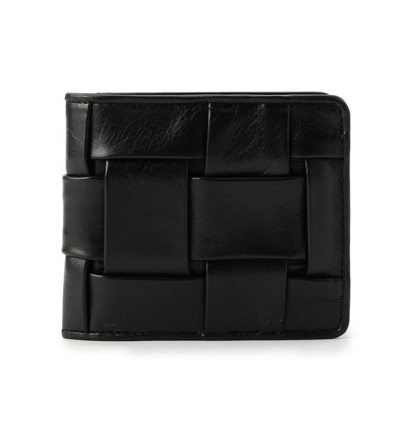 【ローズバッド/ROSEBUD】 (CARRYNEST)メッシュレザー二つ折り財布 [送料無料]