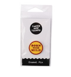【ローズバッド/ROSEBUD】 (THESE ARE THINGS)ロゴ入りピンバッチ [3000円(税込)以上で送料無料]