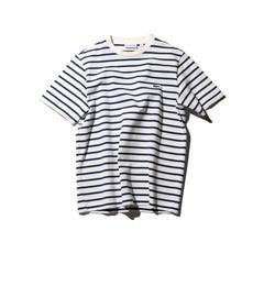 【ローズバッド/ROSEBUD】 (LACOSTE)ボーダー柄半袖Tシャツ [送料無料]