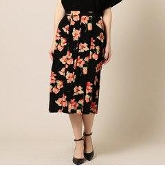 【ローズバッド/ROSEBUD】(EMILYANDFIN)花柄スカート[送料無料]