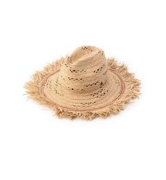 【ローズバッド/ROSEBUD】(CAPOGIRO)パンチング模様麦わらハット[送料無料]