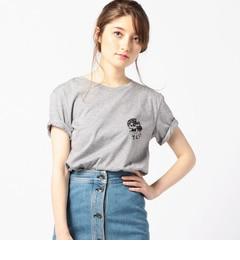 【ローズバッド/ROSEBUD】 [T.C.S.S]スカルプリントTシャツ [送料無料]
