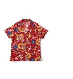 【ローズバッド/ROSEBUD】 プリントアロハシャツ [送料無料]