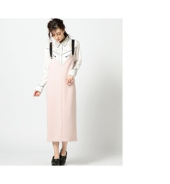 【ローズバッド/ROSEBUD】 リングストラップジャンパースカート [送料無料]
