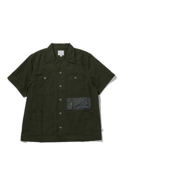【ローズバッド/ROSEBUD】 [Mens] 切り替えポケット付き半袖シャツ [送料無料]