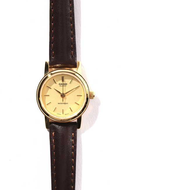 CASIO 腕時計【ローズバッド/ROSEBUD レディス 腕時計 ブラウン1 ルミネ LUMINE】