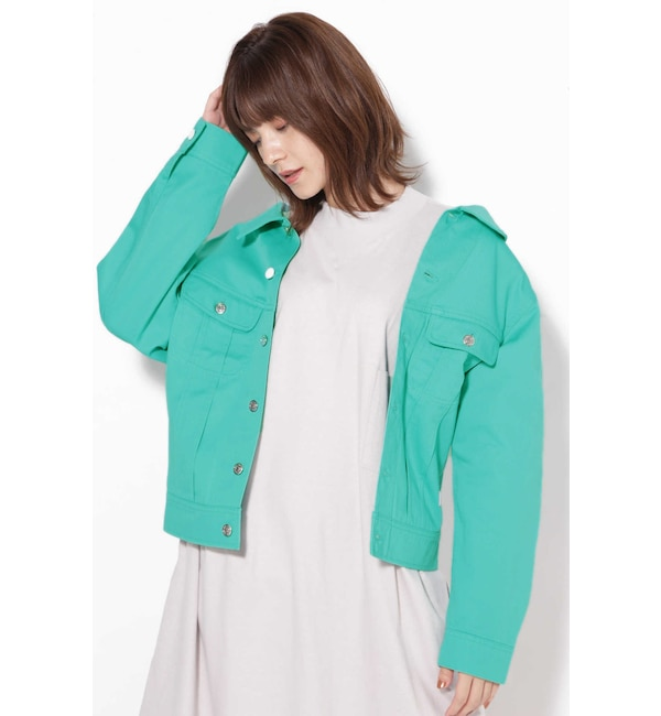 【ローズバッド/ROSEBUD】 LITTLE SUNNY BITE × Dickies 2wayジャケット
