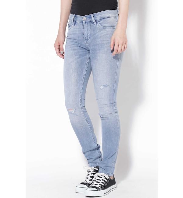 【ローズバッド/ROSEBUD】 Calvin Klein Jeans ハイライズスキニーデニムパンツ