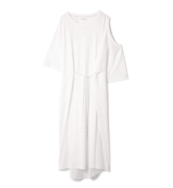 【ローズバッド/ROSEBUD】 OPEN SHOULDER DRESS