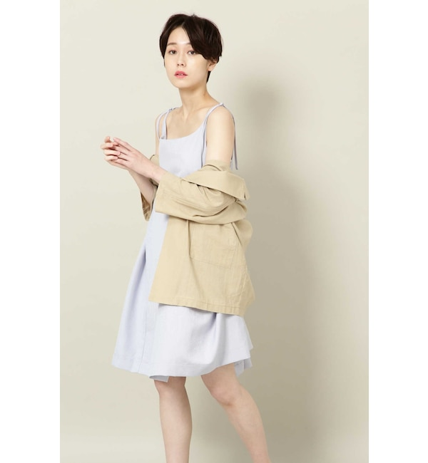 【ローズバッド/ROSEBUD】 Pansy Puff Dress