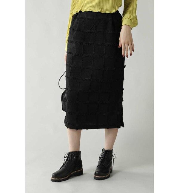 【ローズバッド/ROSEBUD】 チェックタイトスカート