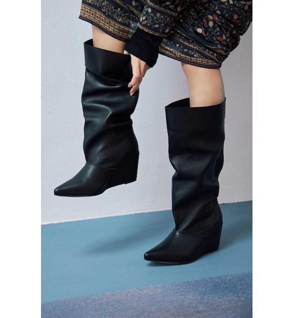 【ローズバッド/ROSEBUD】 Loose Boots