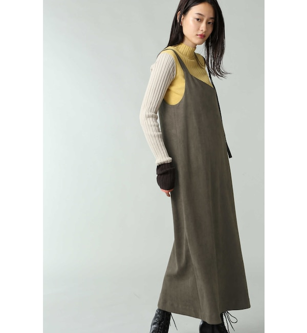 【ローズバッド/ROSEBUD】 アシメトリージャンパースカート