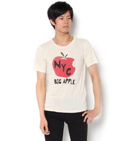 【アメリカンラグシー/AMERICANRAGCIE】 AMERICAN RAG CIE シルク100%Tシャツ「NYC」 [送料無料]