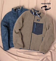 【TAION/タイオン】DOWN×BOA REVERSIBLE DOWN JKT  TAION-R102MB