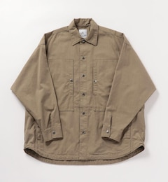 【Vertigo Designs / バーティゴデザイン】 Big Shirt Jacket #VE-21SS010