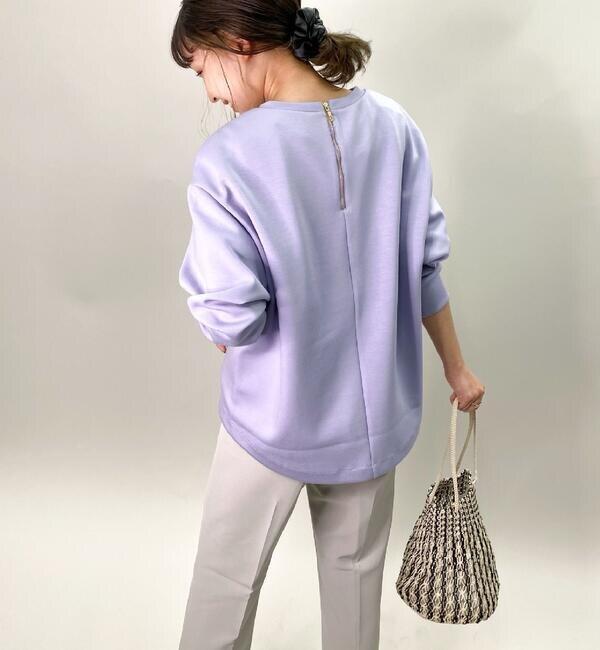 ダンボールニット裾ヘムP/O