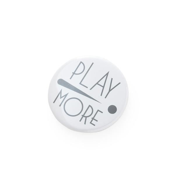 【アダム エ ロペ ル マガザン/Adam et Rope Le Magasin】 【PLAY MORE!】缶バッジ44M