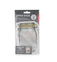 【アダム エ ロペル マガザン/Adam et Rope Le Magasin】 ZIPPER BAG Sサイズ [3000円(税込)以上で送料無料]